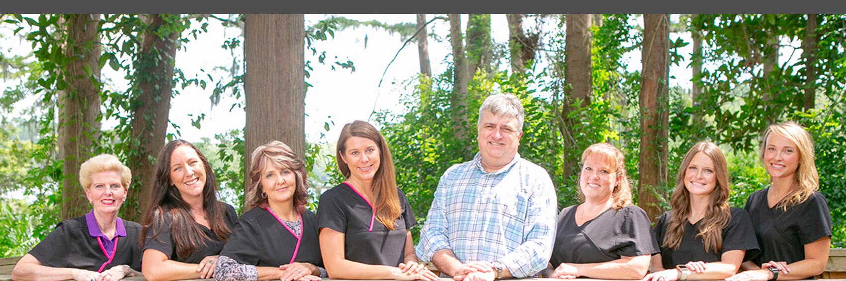 Dr. Gregory B. Garrett, DDS and his team in Wilmington, NC.