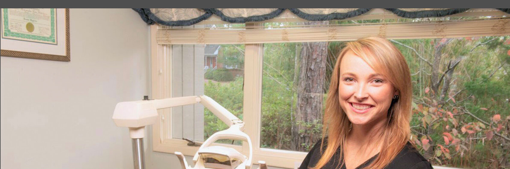 Comprehensive Dental Services offered at Gregory B. Garrett, DDS in Wilmington, NC.